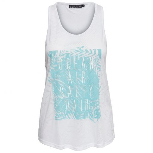 Only Play dames fitness top Marlee - Wit