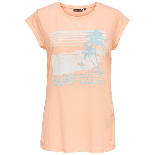 Only Play dames fitness t-shirt Morgan - Oranje
