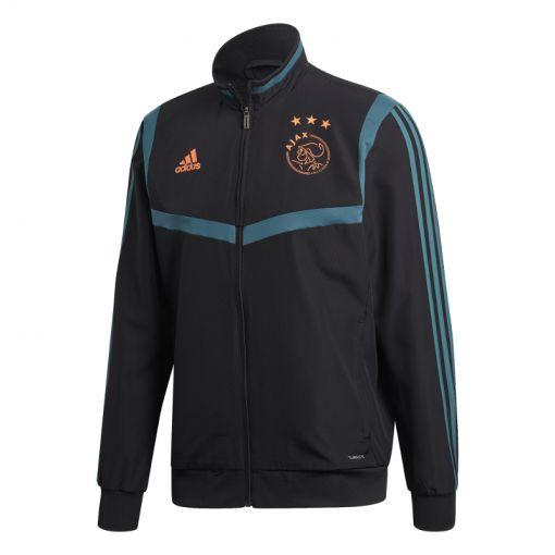 Adidas senior voetbal jack Ajax - BLACK/TECGRN