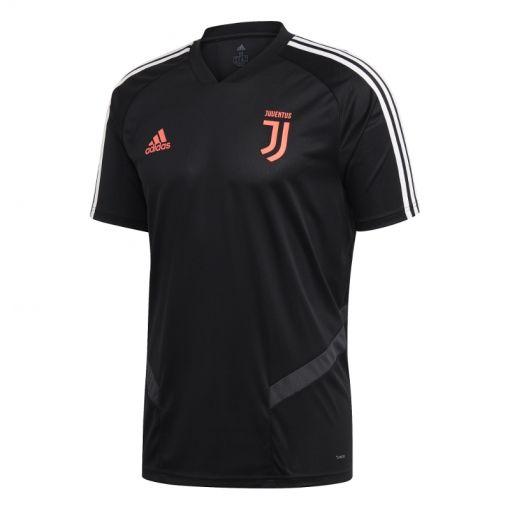Adidas senior voetbal t-shirt Juventus - BLACK/DKGREY