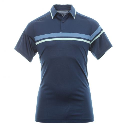 Under Armour heren golf polo Tour Tips Drive - Navy