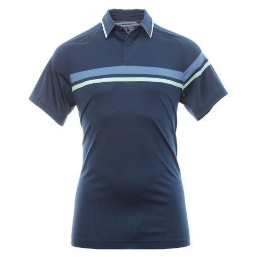 Under Armour heren golf polo Tour Tips Drive - Navy
