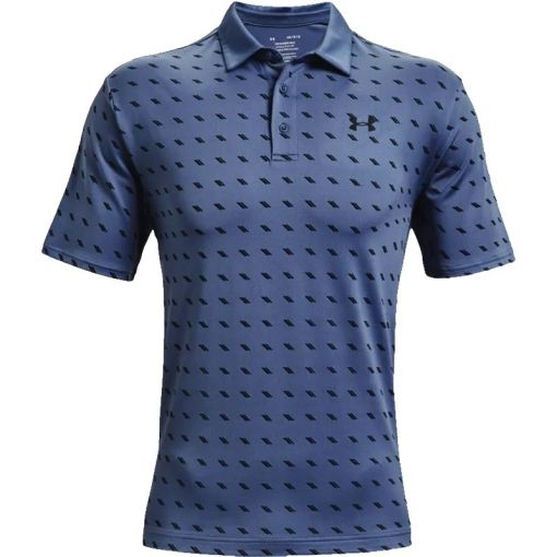Under Armour heren golf polo Playoff 2.0 - 470 Mineral Blue