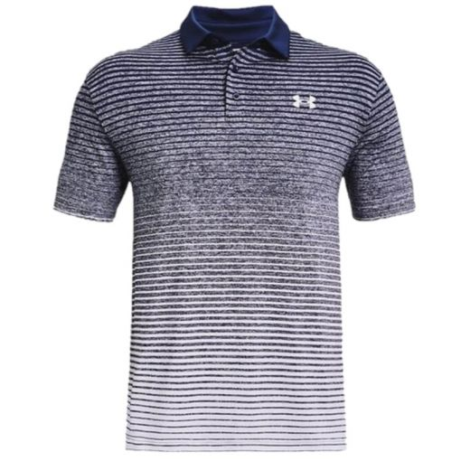 Under Armour heren golf polo Playoff 2.0 - 447 Academy/ White/ white