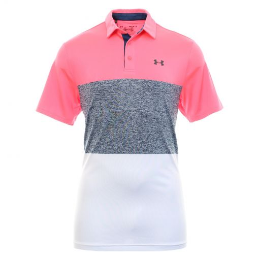 Under Armour heren golf polo Playoff 2.0 - 653 Blitz Red