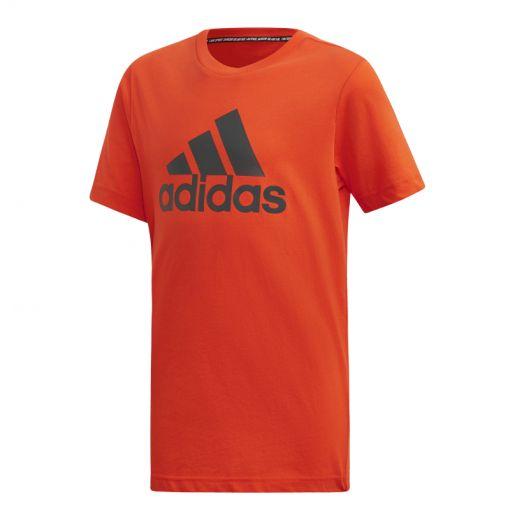 Adidas jongens t-shirt MH BOS T - Rood