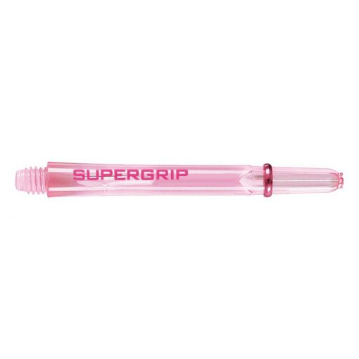 Harrows dart shaft supergrip medium - Roze