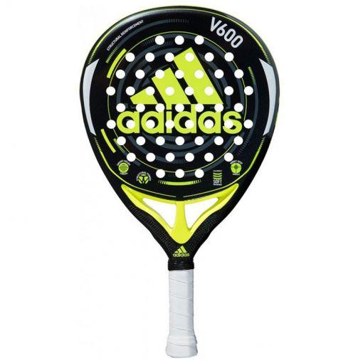Adidas padelracket V600 - Zwart