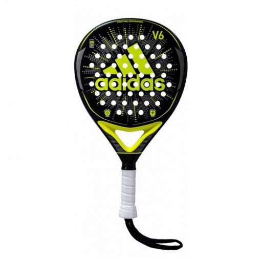 Adidas padelracket V6 - Zwart