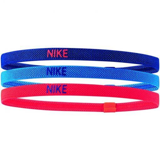 Nike haarband Elastic 3PK - Blauw