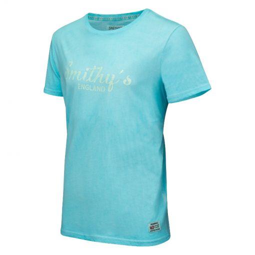 Smithy's heren t-shirt Conner - Licht blauw