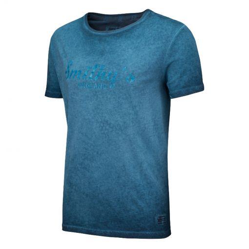 Smithy's heren t-shirt Conner - Donker blauw