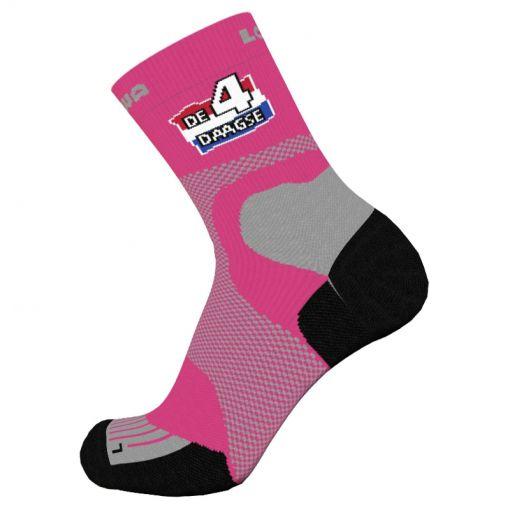 Lowa sokken Vierdaagse - roze