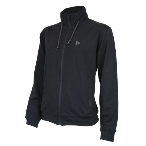 Donnay dames fleece vest Perfect - Zwart