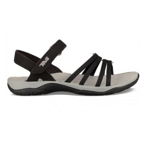 Teva dames sandaal Elzada Web - Zwart
