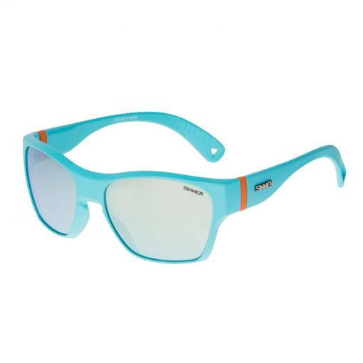 Sinner zonnebril Gunstock - 51 MATTE BRIGHT BLUE