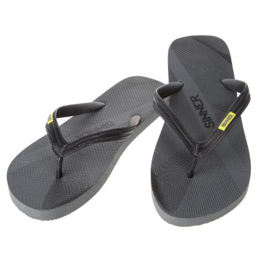 Sinner heren slipper Ruteng - zwart