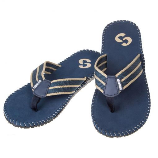 Sinner heren slipper Besar - blauw