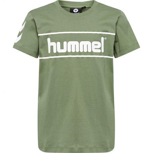 Hummel junior t-shirt Jaki SS - 6264 Four Leaf Clover