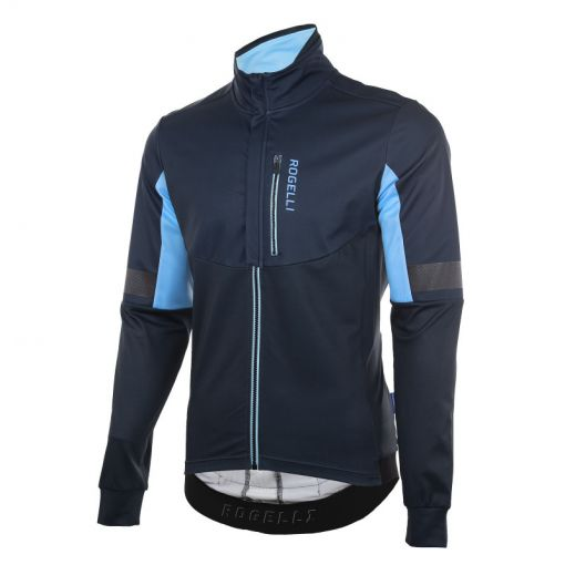 Rogelli wielren winterjack Transition - Blauw