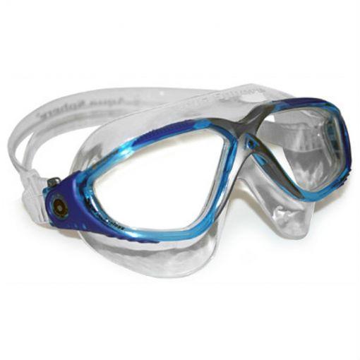 Aqua Vista Clear Lens - Aqua/Blue