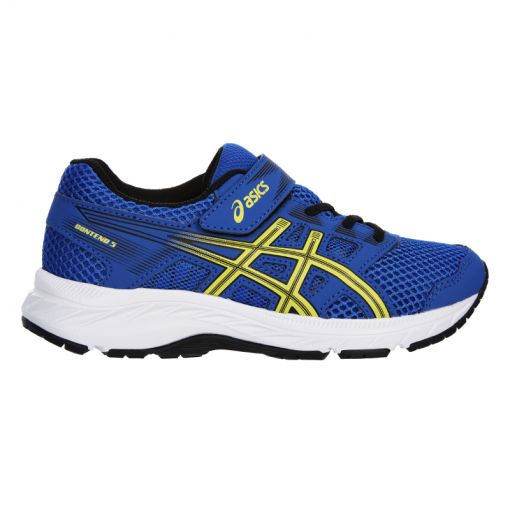 Asics junior runningschoen Contend - 401 Illusion Blue/Lemo