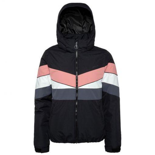 Protest dames ski jas Honeycomb - Zwart