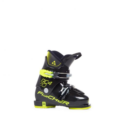 Fischer junior skischoen RC4 20 JR - geel