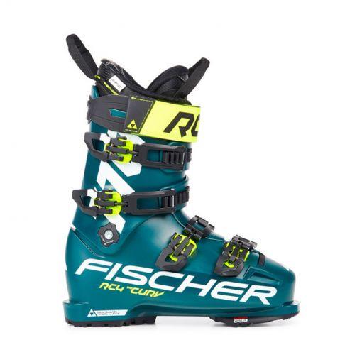 Fischer heren skischoen RC4 The Curv 110 Vff Walk - Petrol