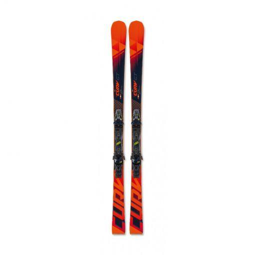 Fischer senior ski RC4 THE CURV PRO AR+RC4 Z11 PR - STD rood-zwart
