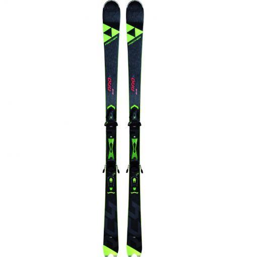 Fischer ski RC4 Pro TI + RC4 Z11 - geel