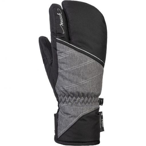 Reusch senior handschoen Brianna R-TEX  XT Lobster - 7678 melange-silver