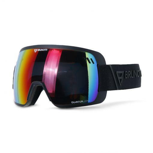 Brunotti skibril Fox 2 Unisex Goggle - Zwart