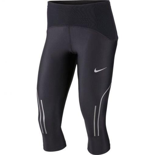 Nike dames tight Speed Capri - Zwart