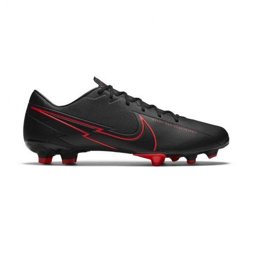 Nike voetbalschoen Vapor 13 Academy FG/MG - 060 Black/Dk Smoke
