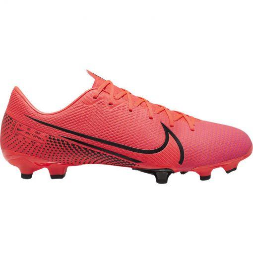 Nike voetbalschoen Vapor 13 Academy FG/MG - 606 Laser Crimson/Black