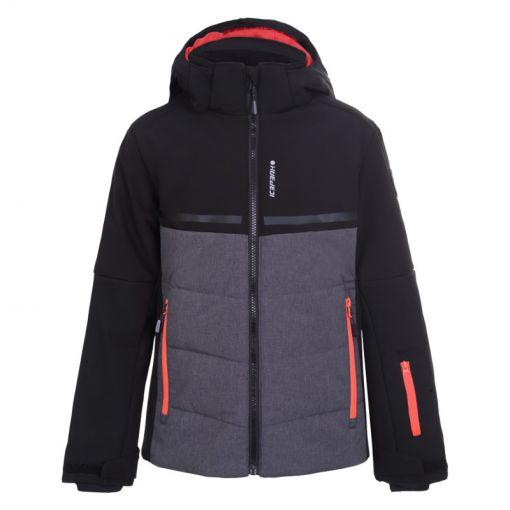 Icepeak jongens ski jas Lambert - Zwart