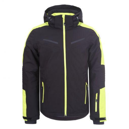 Icepeak heren ski jas Fieldon - Zwart