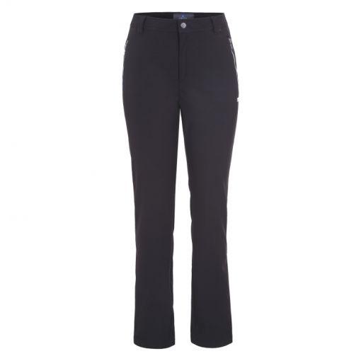 Luhta dames softshell ski broek Erottaja - zwart