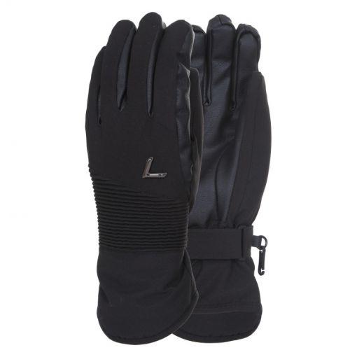 Luhta ski handschoenen Nanhia - Zwart