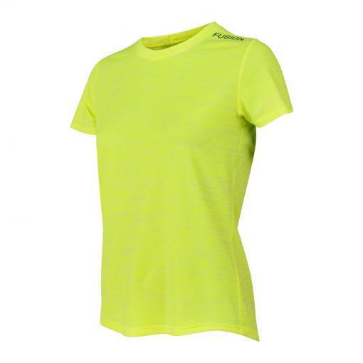 Fusion dames t-shirt C3 - Yellow Melange