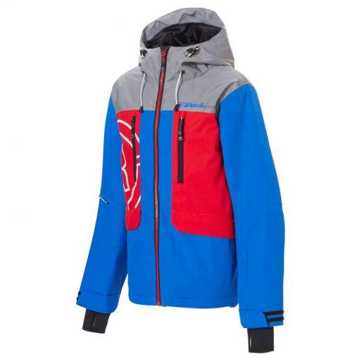 Rehall jongens ski jas Dever-R - rood