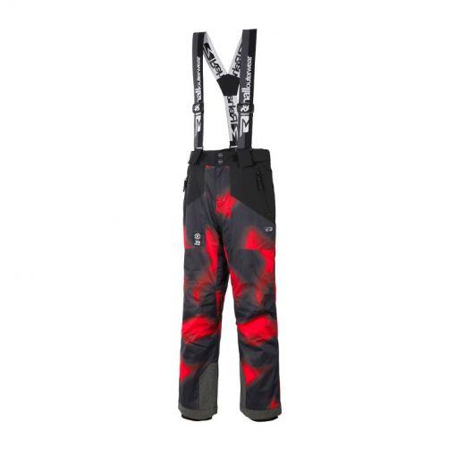 Rehall jongens skibroek Dragg-R Suspenders - Red Dirt Camo