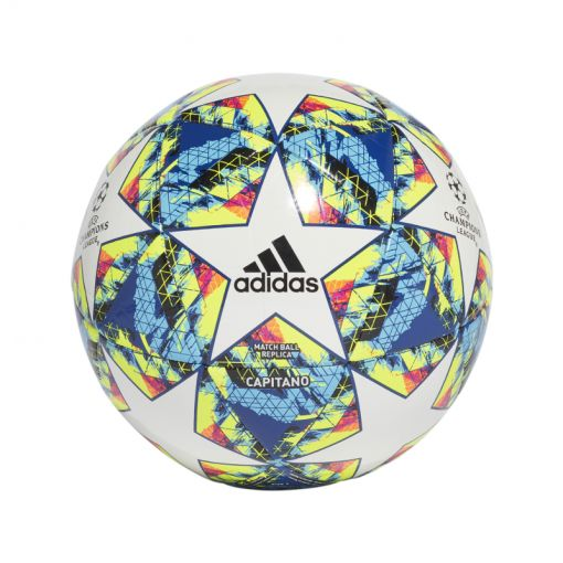 Adidas voetbal Finale 19 CPT - WHITE/BRCYAN/SYEL WHITE/BRCYAN