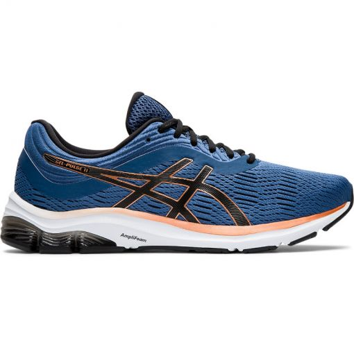 Asics heren hardloopschoen Gel-Pulse 11 - 402 GRAND SHARK/BLACK