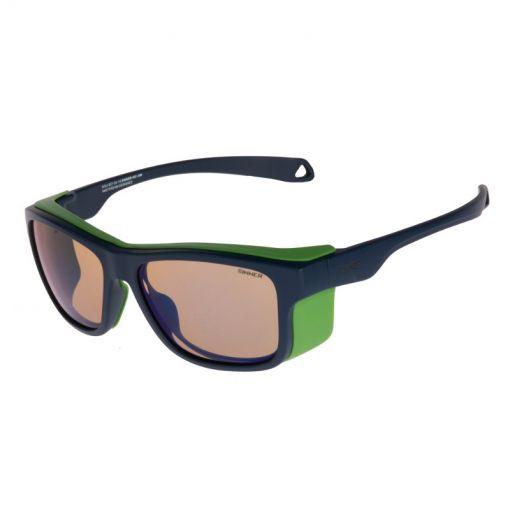 Sinner zonnebril Whitepass - 50 MATTE BLUE/NGREEN
