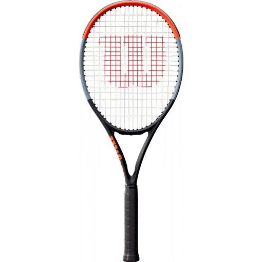 Wilson senior tennisracket Clash 100 L - Zwart