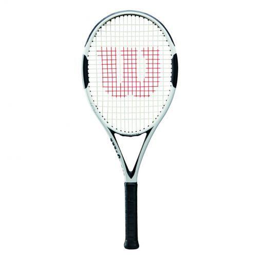 Wilson senior tennisracket H6 TNS CVR - Zwart