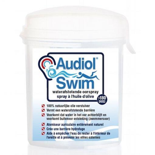 Aqua Oorspray Audiol Swim - Zwart