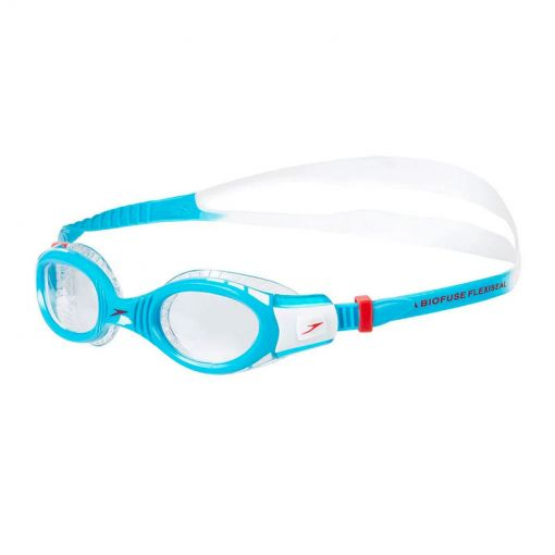 Speedo zwembril Futura Biofuse Flex - Zwart